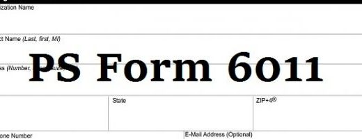 PS-Form-6011